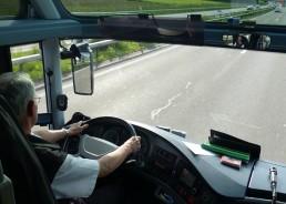 busfahrer mieten fahrt autobahn